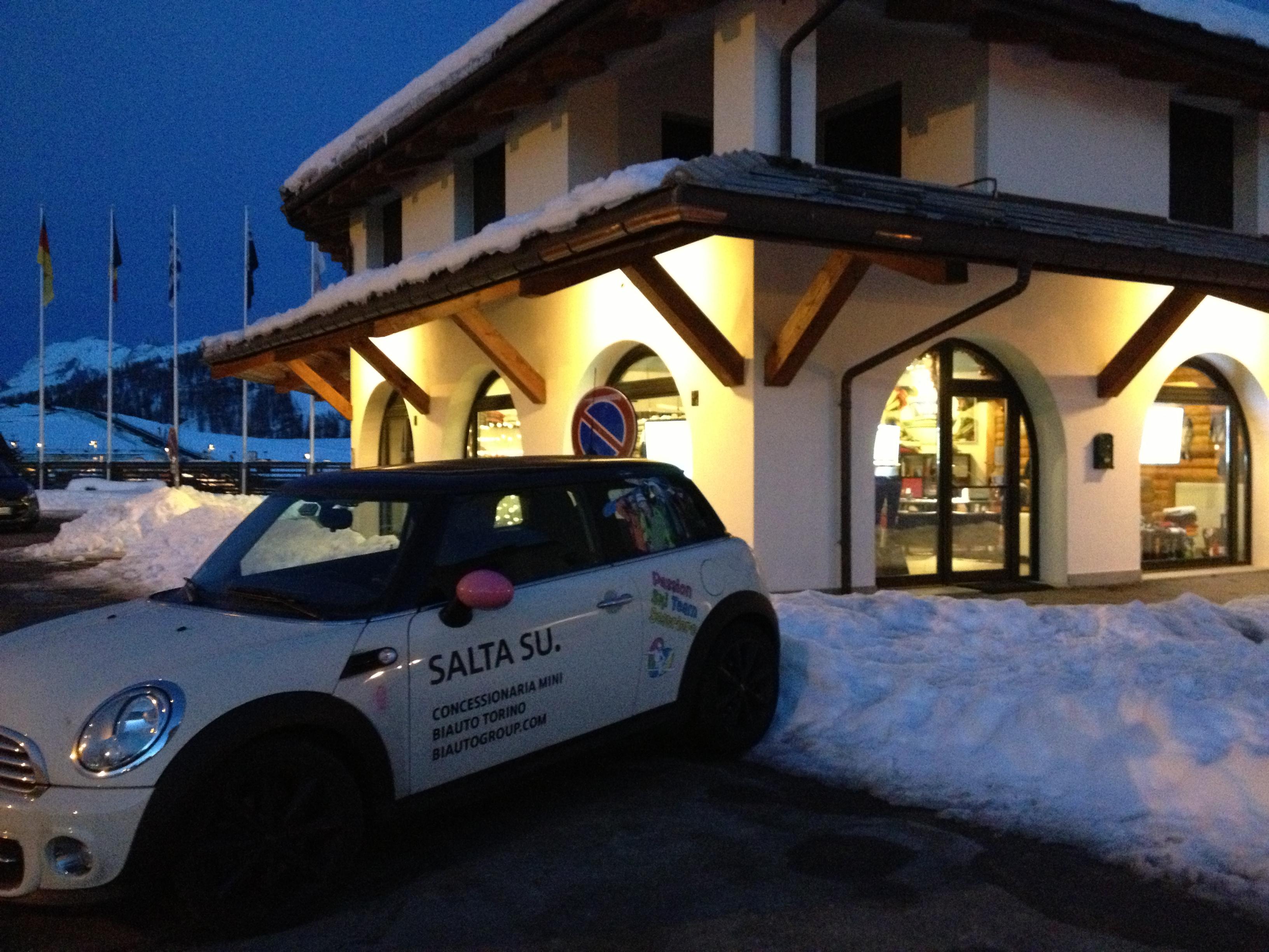 Mini biAuto per Passion Ski Team Sestriere SSD SRL