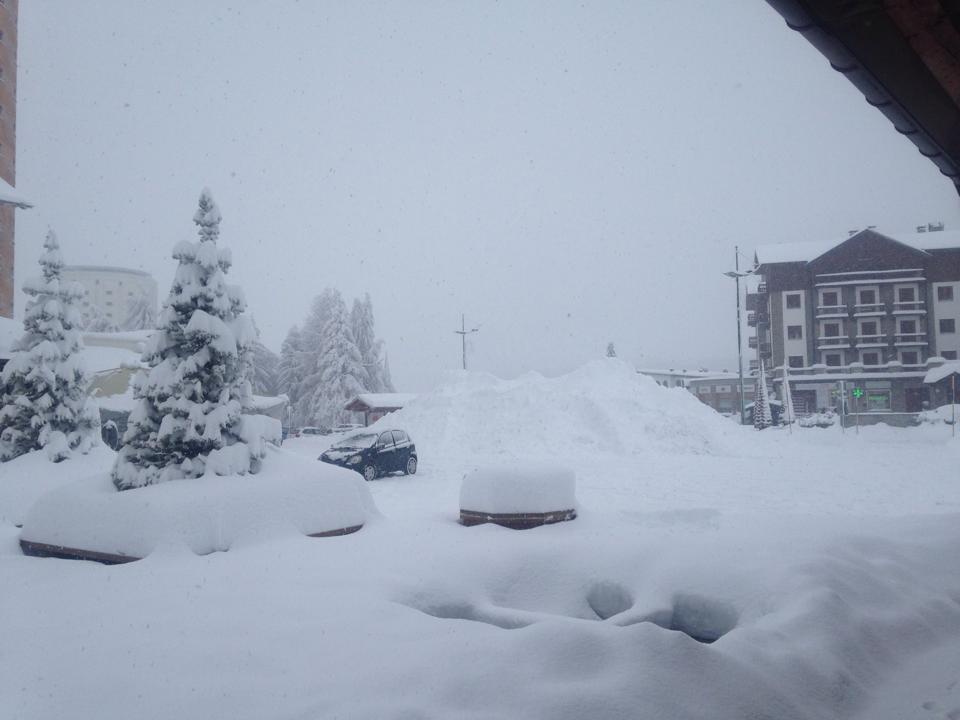 La neve è arrivata…
