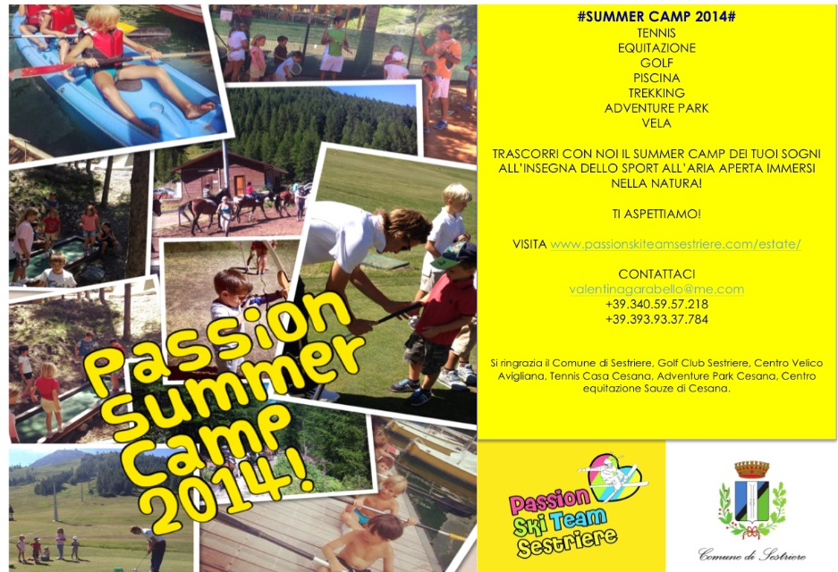 Siete pronti ai Passion Summer Camp??
