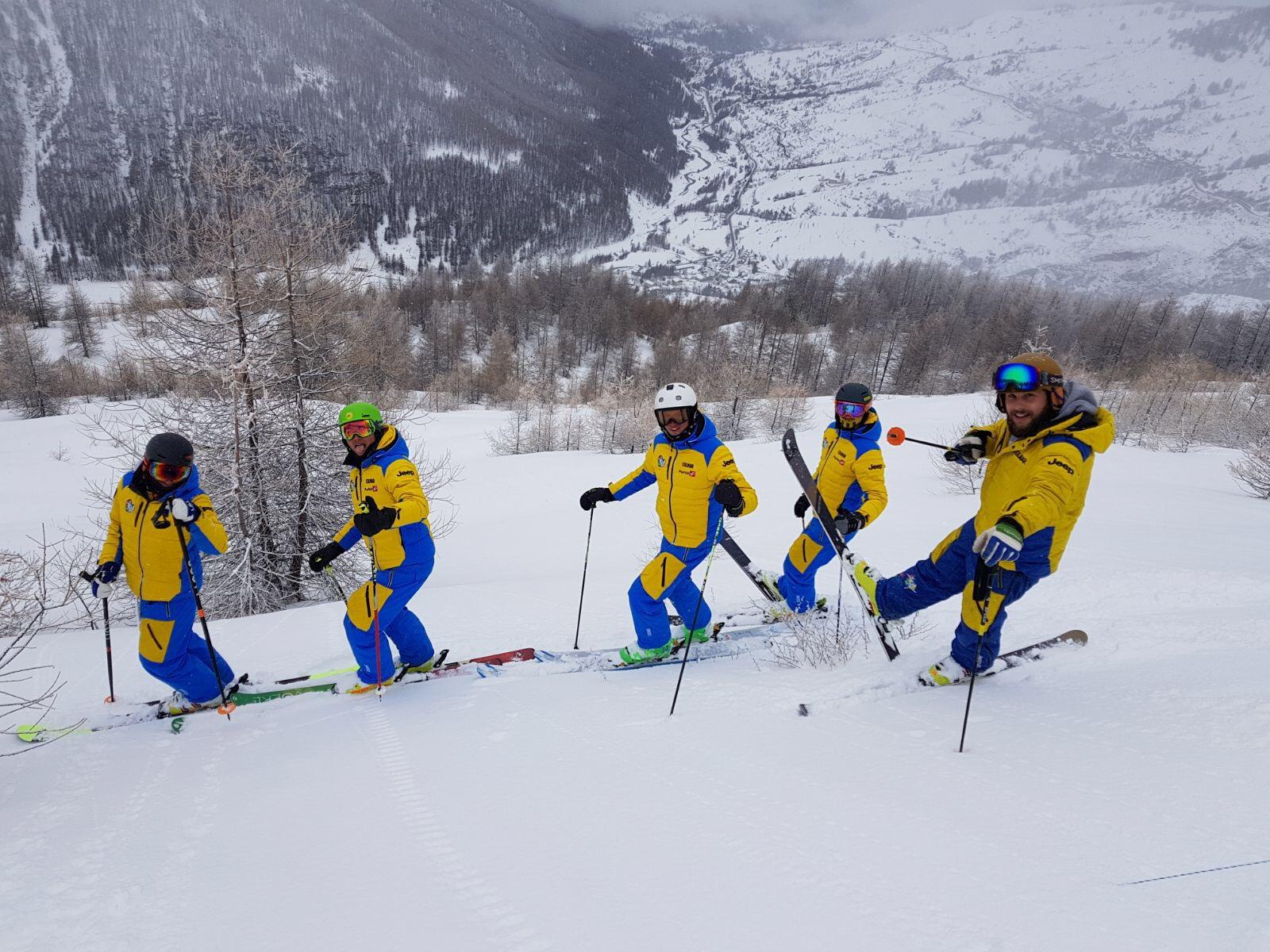 Ecco il nuovo staff di Passion Ski Team Sestriere!