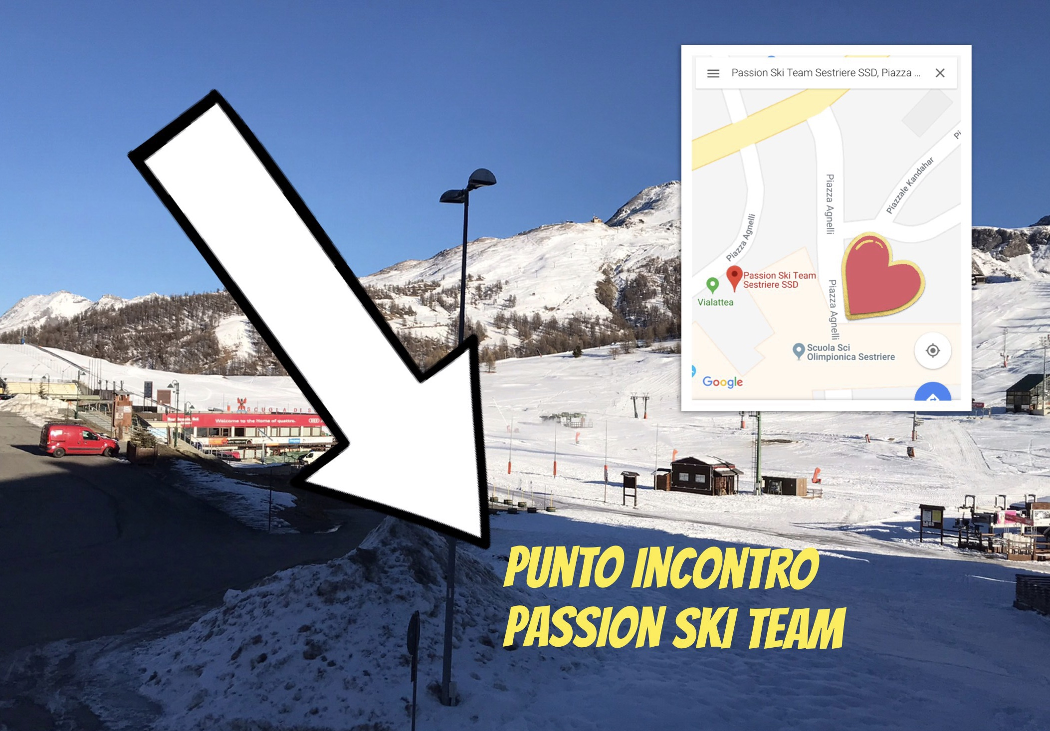 MEETING POINT E INFO PER PRIMO WEEK END!
