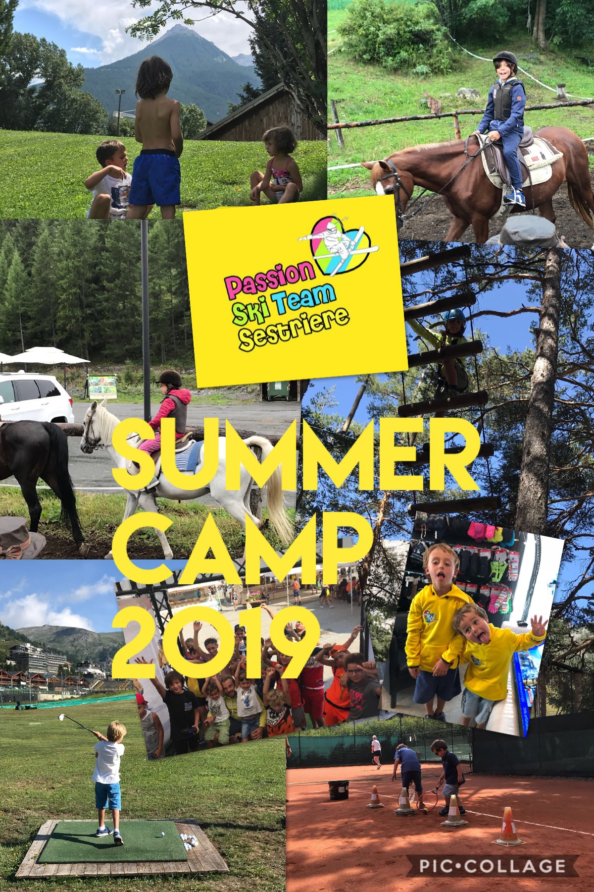 PASSION SUMMER CAMP 2019